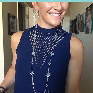Stella & Dot Jewelry - NWOT amala station necklace Stella & Dot